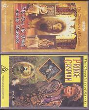 BBC the chronicles of Narnia the lion, witch wardrobe / Prince Caspian (2 VHS)