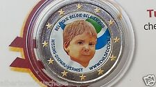 2 euro 2016 BELGIO color farbe belgique belgium belgica belgien Child Focus