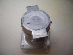 Crouse Hinds AR621 Arktite Body 60A Receptacle 2 wire 2 Pole  #1
