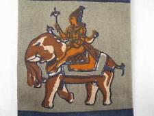 Middle Eastern Oriental Figures On Animals Necktie Retro Horse Elephant (O)