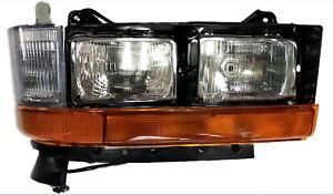 New Passenger Side 4pc Headlight FOR 1996-2004 Mitsubishi Fuso FE FH FG Series