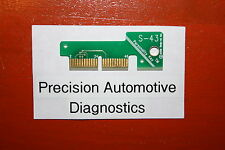 S-43 Personality Key for Snap-on Scan Tool MT2500 MTG2500 MODIS SOLUS Pro VERUS