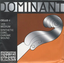 Thomastik-Infeld Dominant Cello D String 143 4/4 Scale Synthetic Core Medium