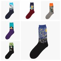 Men's Taco Socks COTTON Happy Novelty Sox Size 7-13 Unisex Fashion Funky AUS 3