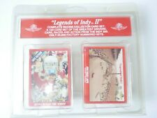Legends Of Indy II~Racing Collector Card Set~Greatest Drivers,Cars,Races~New