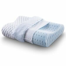 Sleep Ventilated Memory Foam Contour Pillow, AirCell Technology, Standard,1-Pack