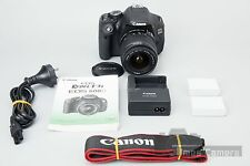 *Mint* Canon EOS 600D DSLR Camera kit EF-S 18-55mm f/3.5-5.6 IS II Macro Lens