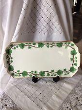 Crown Staffordshire ivy leaf porcelain trays