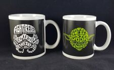 Star Wars Ceramic Mug Darth Vader Yoda Storm Trooper R2 D2 Word Art