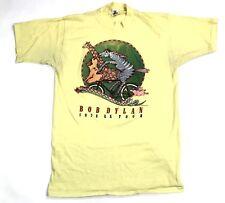 Vintage 1978 Bob Dylan U.S.Tour T-Shirt Original 70s Concert Tee 50/50 Sz L