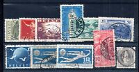 Switzerland good used collection Cat Val £100 WS12085