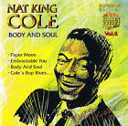 "NAT KING COLE ""Body And Soul"" 17 Tracks CD NEU & OVP Cosmus DSB"