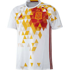 Camisetas de fútbol de selecciones nacionales 2ª equipación para hombres de españa