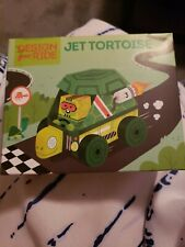 ~NEW FACTORY SEALED~WENDY'S KIDS MEAL TOY~DESIGN YOUR RIDE~JET TORTOISE~AGES 3+
