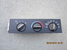 02 - 07 CHEVY EXPRESS 1500 2500 3500 A/C HEATER CLIMATE CONTROL OEM P/N 25753629