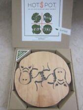 Wooden Pot Mat Table Decorations