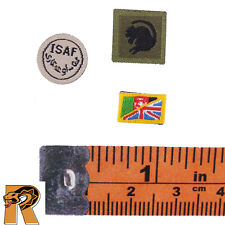 British Army Afghanistan - Patches Set - 1/6 Scale - DID Action Figures