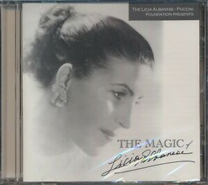 The Magic of Licia Albanese - Pucini Foundation CD - New and Sealed