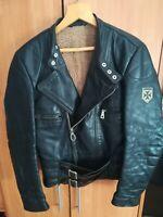 Harro Motorrad Lederjacke vintage, biker leather Jacket vintage