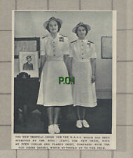 C948) Launch Of The WRNS Tropical Dress Uniform - 1949 PAPER CUTTING