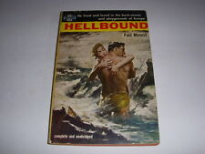 Vintage HELLBOUND by PAUL MONASH, AVON BOOK #622, 1955, PASSION IN EUROPE, PB!