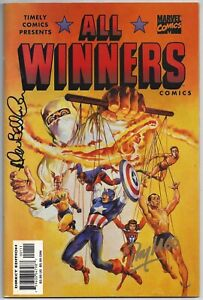 ALL WINNERS #19~TIMELY COMICS~1999~SIGNED~ALLEN BELLMAN + RAY LAGO~VERY FINE