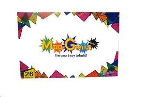 Magnet Tiles magnetic Building Blocks Toys for Kids GIFT SET Mag-Genius   26pc