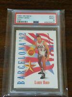 1991 Skybox #531 Larry Bird USA Basketball HOF PSA 9 MINT