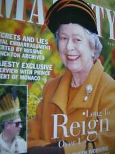 Majesty Magazine V21 #4 Charles In Caribbean, Prince Albert Interview, Royals &