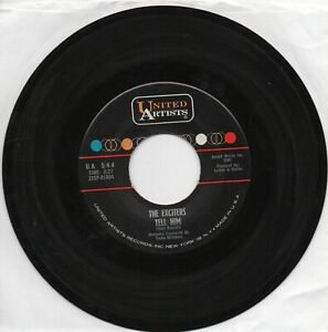 The Exciters  Tell Him /  Hard Way To Go on United Artists