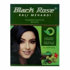 20 Sachets Black Rose Kali Mehandi Black Henna Herbal Hair 10 gm each