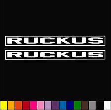 2x Honda Ruckus OEM Decal Racing Diecut Vinyl Sticker