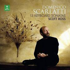 Scott Ross-Scarlatti: 13 sonate VINILE LP NUOVO Domenico Scarlatti