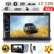"Fit Nissan Frontier 6.5"" 2DIN Touch Screen Car Stereo DVD Player Bluetooth Radio"