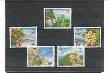 Laos Flores Valores del año 1983 (FC-957)