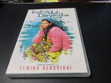 """RARE! DVD """"INCH'ALLAH DIMANCHE"""" de Yamina BENGUIGUI"""