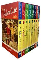 Enid Blyton's Adventure Series 8 Books Set Collection Castle, Island, Sea, River