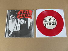 "ANTI PASTI Let Them Free 7"" RARE 1981 UK ORIGINAL RED VINYL 7"" 1ST PRESSING"