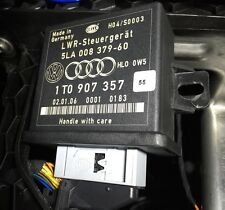 VW GOLF MK5 HEADLIGHT RANGE CONTROL UNIT MODULE 1T0907357