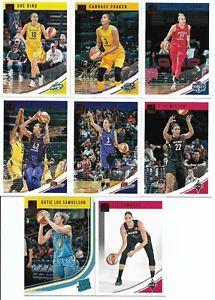 2019 WNBA DONRUSS PANINI 100 CARD BASE SET **STARS *BIRD * TAURASI & ROOKIES**