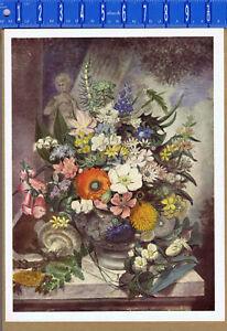A VASE OF FLOWERS, James Sowerby - 1937 Color Botanical Print