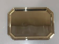 Brand New Silver Plated Small Beverage and Refreshment Service Tray