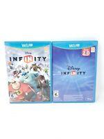 Disney Infinity - 2.0 Edition & 1.0 Edition Bundle (Nintendo Wii U, 2014)