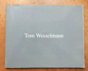 TOM WESSELMAN. prints. catalogue d'éditeur. International Images inc. 1988