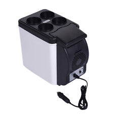 Portable Car Freezer Fridge 6L Travel Camping 12V Boat Truck Refrigerator Cooler
