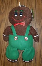 Christmas Cookie Gingerbread Man/Boy Stuffed Animal Plush Toy