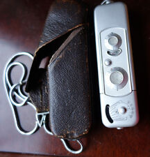 Minox B Spy Camera (Complan Lens 1:3.5 f=15mm) with Leather Case and Chain