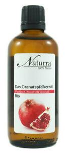 Granatapfelkernöl Bio unraffiniert kaltgepresst nativ 100ml Glas Naturkosmetik