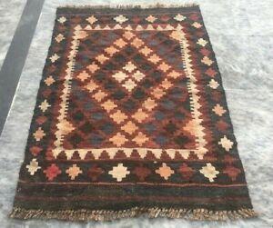 789 Vintage Afghan Kilim Handwoven Anatolian Rug Home Decoration Afghan Rug 3x2