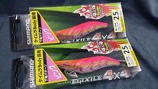 Shimano Sephia Egixile Keimura QE-254L #2.5 4x4 Tune 10.5g 2pcs Col 103